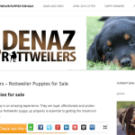 Denaz Rottweilers benefit from websites